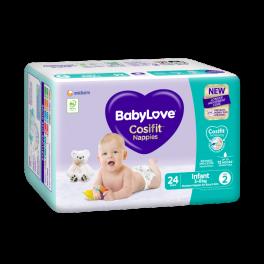 BabyLove C/Pack Infant (Size 2) 96's