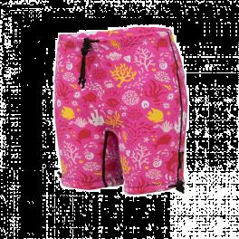 Conni Swim Short Sunset Pink 6-8