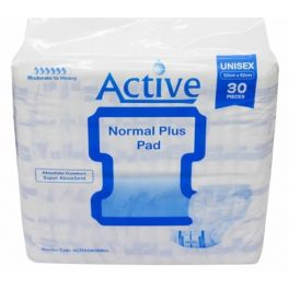 Active Pad Normal Plus 4x30's