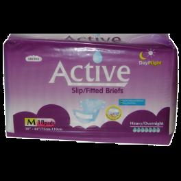 Active Slips Premium Medium 4x18's