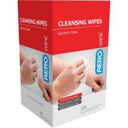 AeroWipe Cleansing Wipes 100 Pack