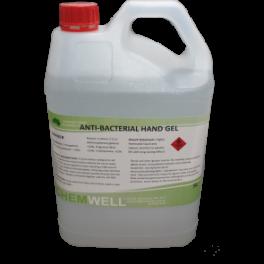 Anti-Bacterial Hand Sanitiser Gel 5L