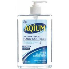 Aqium Hand Sanitiser 1L