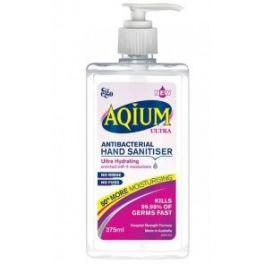 Aqium Hand Sanitiser Ultra 375ml