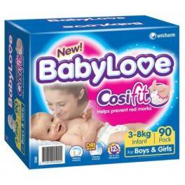 BabyLove Nappies Infant Jumbo 90's