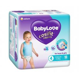BabyLove Convenience Pack Toddler 72's