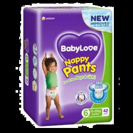 BabyLove Nappy Pants Junior 2x42's