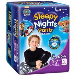 Babylove Sleepy Nights 4-7yo 3x9's