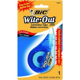 Bic Correct Tape Wite-Out