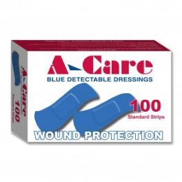 A-Care Detect Blue Band-Aid 100 Pack