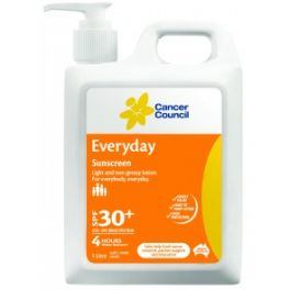 Cancer Council Everyday Sunscreen 1L SPF30+