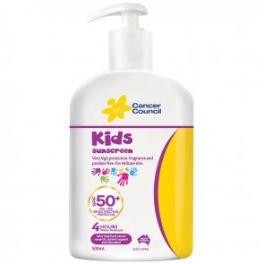 Cancer Council Kids Sunscreen 500ml SPF50+