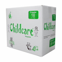 Childcare Nappies Crawler 132's