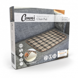 Conni Chairpad Large - Plaid