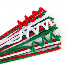 Chenille Stems 200 Pack - Xmas