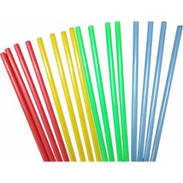 Coloured Straws 250 Pack