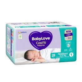 BabyLove C/Pack Newborn (Size 1) 112's
