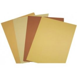 A4 Cover Paper Prism 250 Sheets - Skin Tone Colours