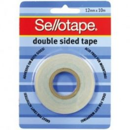 Double Sided Tape 12mm x 10m