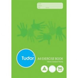 Exercise Book Dotted Third 96 Pages x 10 Pack