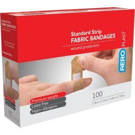 AeroPlast Fabric Adhesive Bandage 100 Pack