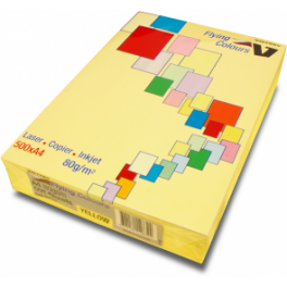 A4 Tinted Copy Paper - Yellow