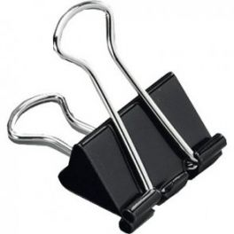 Fold Back Clips 19mm 12 Pack