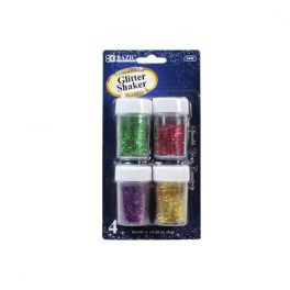 Colour Glitter Shakers 4 Pack