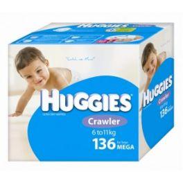 Huggies Crawler Boy 136's