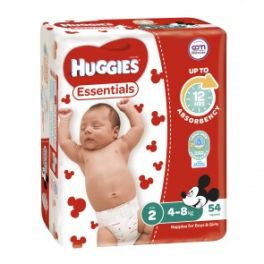 Huggies Essentials Infant 4x54's