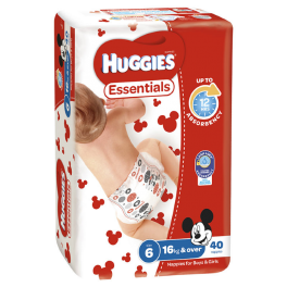 Huggies Essentials Junior 4x40's
