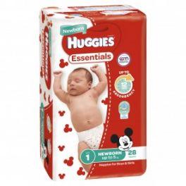 Huggies Essential Newborn 4x28's