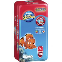 Huggies Little Swimmers Large 3x10's