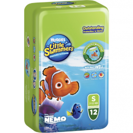 Huggies Little Swimmers Small 3x12's