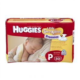 Huggies Snugglers Premies 6x30's