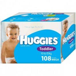 Huggies Toddler Boy 108's