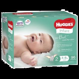 Huggies Ultimate Infant 96's