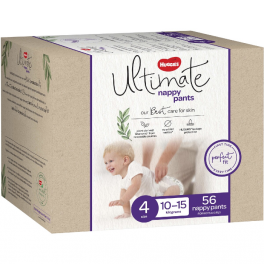 Huggies Ultimate Nappy Pants Size 4 (Toddler) 56's