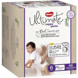 Huggies Ultimate Nappy Pants Size 6 (Junior) 46's