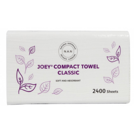 Joey Compact Classic Towel 2Ply 20x120's