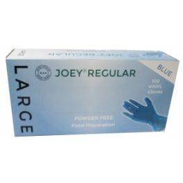 Joey Regular Vinyl P/F 10x100's Blue - Large