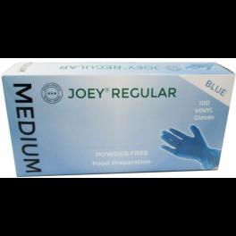 Joey Regular Vinyl P/F 10x100's Blue - Medium