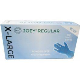 Joey Regular Vinyl P/F 10x100's Blue - Extra Large