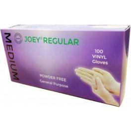 Joey Regular Vinyl P/F 10x100's Clear - Medium