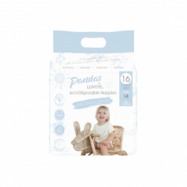 Luvme Nappies 6x36's - Large