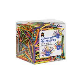 Matchstix Coloured 2000 Pack