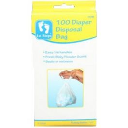 Nappy Bags Powdered Scent 100 Pack