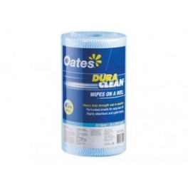 Oates DuraClean Roll 90 wipes - Blue
