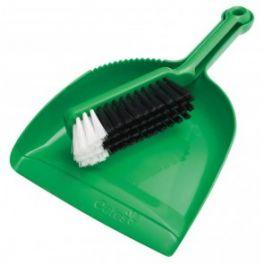 Oates Dustpan & Bannister Set - Green