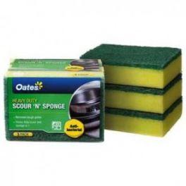 Oates Sponge &Scour 3 Pack